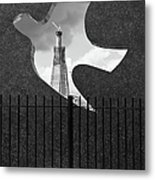Shard From Wapping Memorial Metal Print