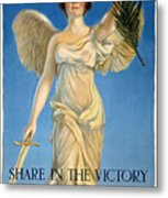 Share In The Victory. Save For Your Country Metal Print