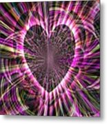 Sharing Heart With Gladness Metal Print