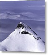 Shark Fin Peak Metal Print