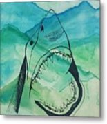 Shark Mountain  Metal Print