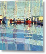 Shark River Inlet Metal Print