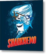 Sharknemo Metal Print