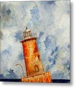 Sharps Island Lighthouse Metal Print
