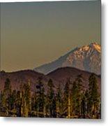 Mt Shasta From Hat Creek Metal Print