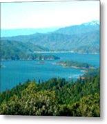 Shasta Lake Metal Print