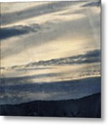 Shasta Trinity National Forest Sunrise Metal Print