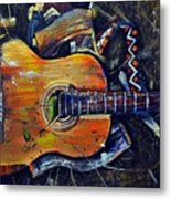 Shattered Melody Metal Print