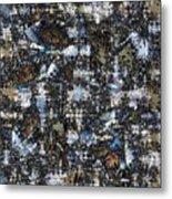 Shattered Patterns Metal Print