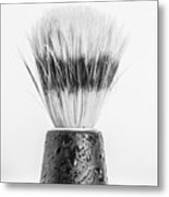 Shaving Brush Metal Print