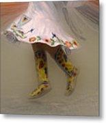 Pow Wow Shawl Dancer 8 Metal Print