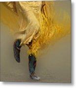 Pow Wow Shawl Dancer 9 Metal Print