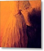 She Danced Metal Print