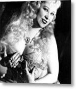 She Done Him Wrong, Mae West, 1933 Metal Print
