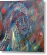 She Dreams In Color Metal Print
