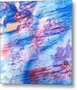 She Hears The Poems Of The Sea Metal Print