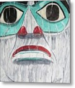 She Is Tlingit Metal Print