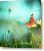 She Rests In Beauty Metal Print