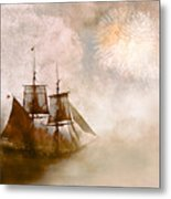 She Returns Home Metal Print