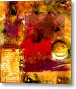 She Wants Gold For Her Cherries Metal Print