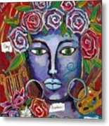 She Who Restores Wellness Metal Print