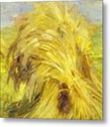 Sheaf Of Grain 1907 Metal Print