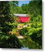 Sheards Mill Bridge - Nockamixon Pa Metal Print