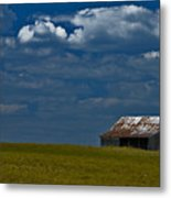 Shed In The Light Metal Print