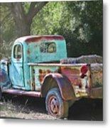 Sheepherders Truck Metal Print
