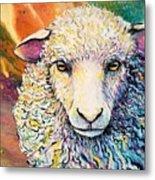 Sheepish Metal Print
