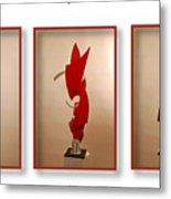 Sheer Physical Attraction Metal Print
