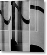 Sheer Starkness Metal Print