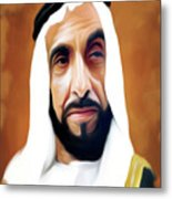 Sheikh Zayed Metal Print