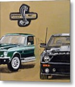 Shelby 40th Anniversary Metal Print