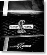 Shelby Gt 500 Super Snake Metal Print
