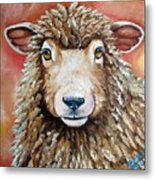 Shelby Metal Print by Laura Carey