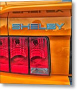 Shelby Tail Light Metal Print
