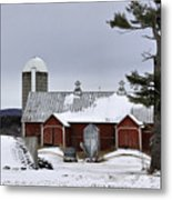Sheldon Barn Metal Print
