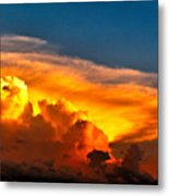 Shelf Cloud 01 Metal Print