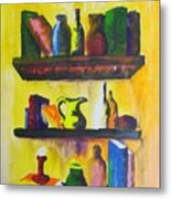 Shelf Metal Print