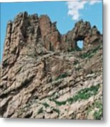 Shelf Road Rock Formations Metal Print