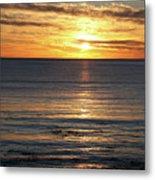 Shell Beach Sunset Metal Print