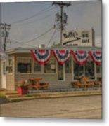 Shellys Route 66 Cafe Cuba Mo Dsc05554 Metal Print