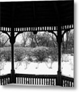 Shelter From The Storm       Landscape     Indiana Metal Print