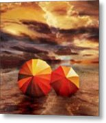 Shelter Metal Print by Jacky Gerritsen