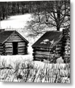 Shelter The Soldiery  Metal Print