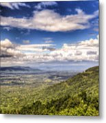 Shenandoah National Park - Sky And Clouds Metal Print