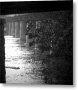 Shenandoah Train Bridge Metal Print