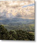 Shenandoah Valley - Storm Rolling In Metal Print