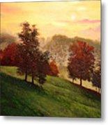Shenandoah Valley Sunrise Metal Print